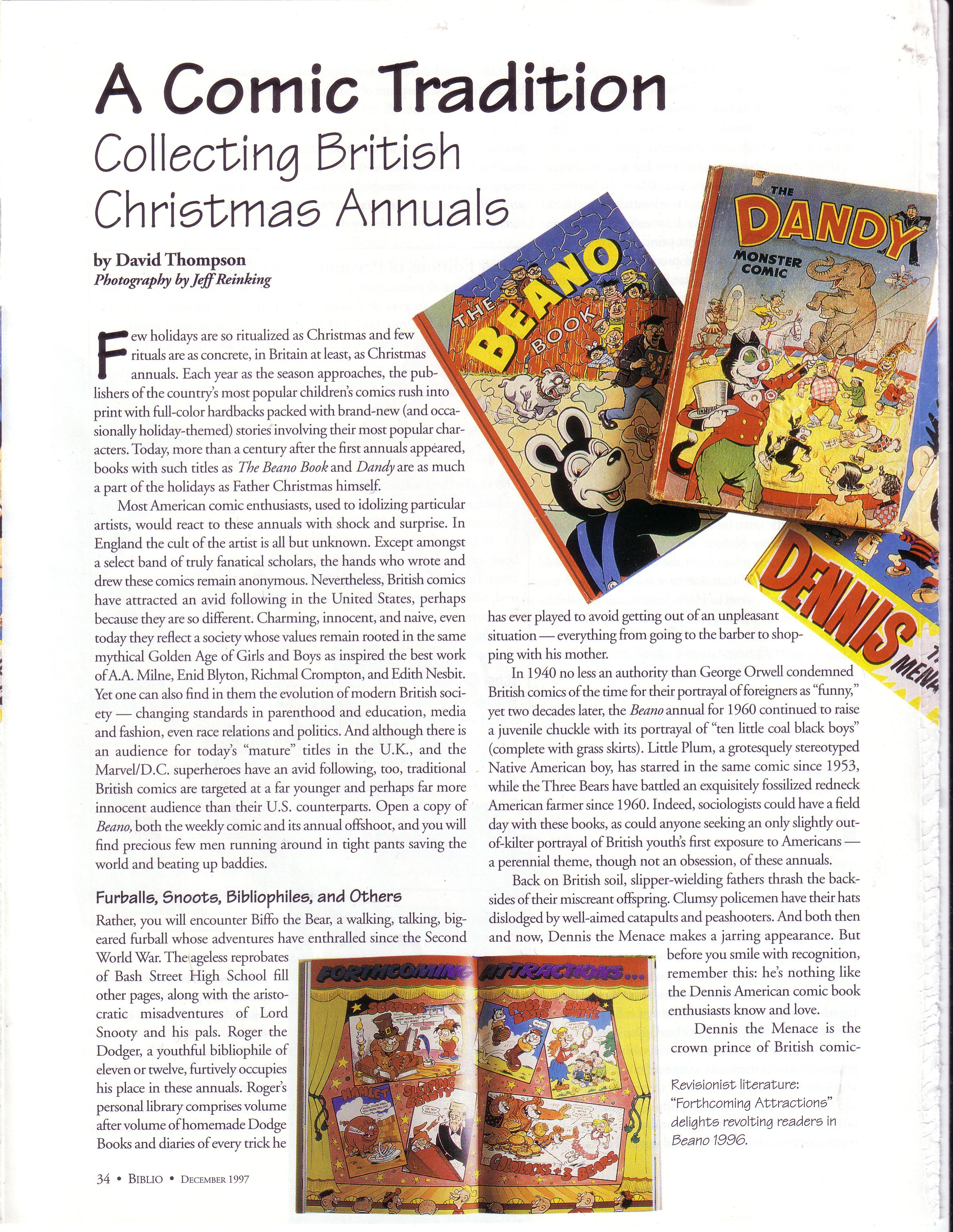 British Christmas Annuals – It\'s Not Only Rock\'n\'Roll